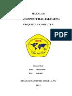 MAKALAH HyperSpectral Imaging