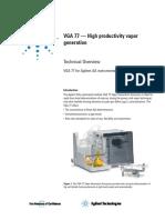 Agilent High Productivity Vapor Generation VGA-77