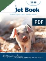Maine Piglet Book 2016