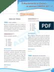 Razonamiento Verbal - Preguntas Examen Admision UNMSM 2011-2