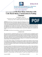 Incremental Incremental Nth Best Relay Selection with Code Based Relay Construction in Fading Channel