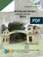 Dairi Dalam Angka 2014