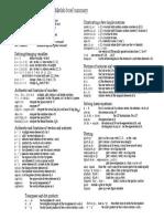 Matlab Brief Summary