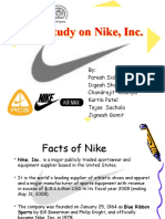 Case Study on Nike, Inc