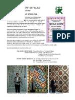 KQG Quilt Show Newsletter PDF