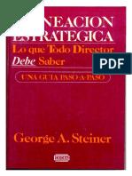 Planeacion Estrategica - Steiner