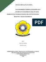 Cover Proposal Laporan Akhir 1