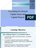 Accounting for General Capital Assets and Capital Projects
