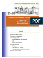 5.Critical Utilies Design Maintenance