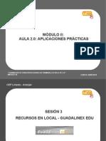 Modulo 2 - Aplicaciones Guadalinex