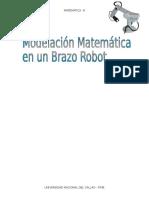 Modelacion Matematica en Brazo Robot