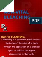 Non Vital Bleaching