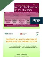 COFARES CF- Declaracion Renta MADRID 7 MAYO