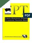Penetrant Testing Class Room Training Book