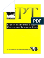 Penetrant Testing Class Room Training Book