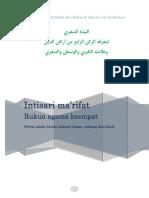 Materi Dauroh Fiqh Tahawwulat terjemah - Habib Abu Bakar Al Adni