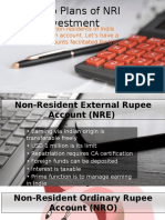 Superb Plans of NRI Investment