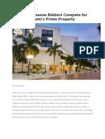 4 No-nonsense Bidders Compete for Miami's Prime Property