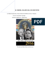 Russian Spy Ring; Obama-Hillary-Bill or How Putin Rules USA.M.Kryzhanovsky