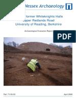Land at Former Whiteknights Halls, Upper Redlands Road, University of Reading, Berkshire