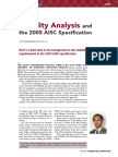 Stability Analysis and the 2005 AISC Specification