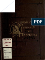 Elementary Principles of Carpentry by Thomas Tredgold (2nd Edition, 1875)