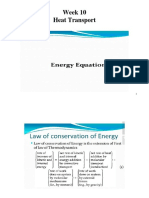 5. Energy Equations.