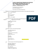 CS pre board paper