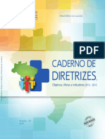 Caderno Diretrizes Objetivos 2013 2015