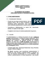 SISTEMAS DE GOVERNO
