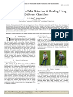 New Approach of MA Detection & Grading Using Different Classifiers