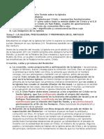 Resumen de Eclesiología 2015