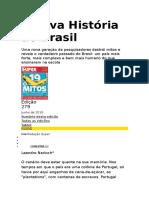 A Nova História Do Brasil