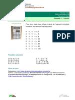 Calcula Dora 19