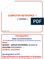Introduction to Computer Networks.