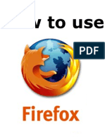 How to Use Firefox.