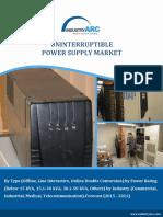 Uninterruptible Power Supply Market Strategic Analysis and Market Trends 2021