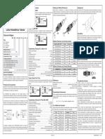 Manual de Instalação Sensores Ópticos Tubulares
