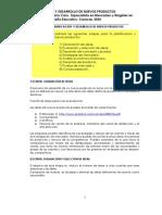Desarrollo Nvos Productos, 2005