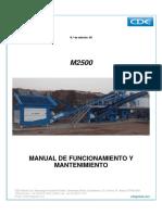 Cde m2500 Manual - Sp648_laes