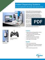 Nordson EFD Robot EV Series Data Sheet