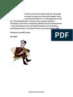 Proust Questionnaire Vanity Fair