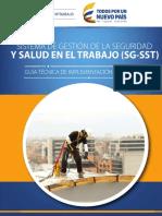 Guía Técnica de Implementación Del SG SST Para Mipymes
