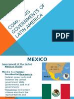 comparing governments of latin america