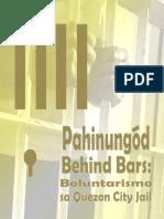 Pahinungod Behind Bars
