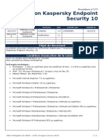 proc177 - installation kaspersky endpoint security 10  1