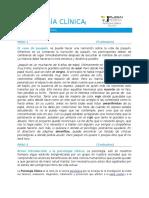 Dinámica Motivación Psicología Clinica