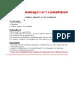 Portfolio Management Software V1.1