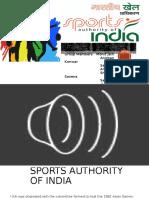 Sports Authority of India