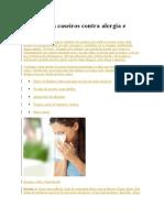 9 Remédios Caseiros Contra Alergia e Coceira
